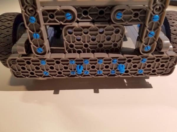 Rear bumper switch connectors