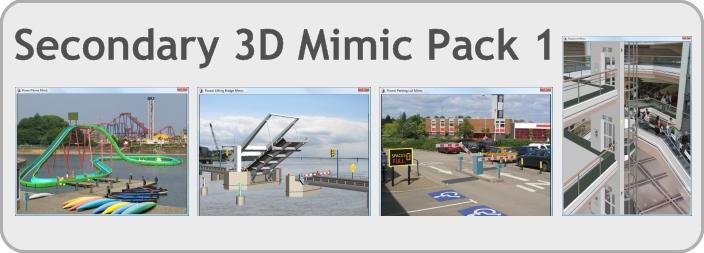 Secondary 3D Mimic Pack 1