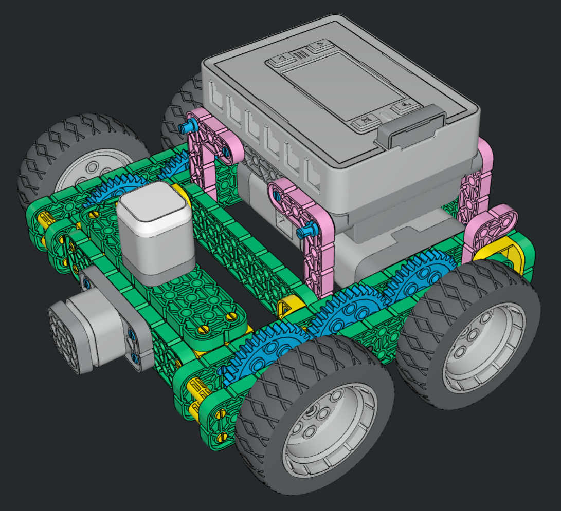 Hour of Code Robot - front